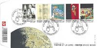 Tintin et la Lune - First Day Covers