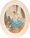Orange seller - Marchande d'oranges