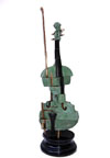 Cutted Violon Vert Click to ZOOM